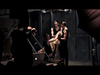 Fashion photo shoot - behind the scenes of Hypnos - w- Michael David Adams